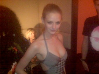Lydia Hearst Live From The Life Ball In Vienna