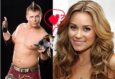Real Person Lauren Conrad in Real Love Affair with Real Wrestler The Miz.
