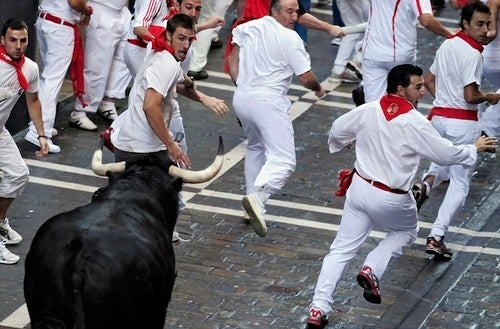 Millions Disappointed By Lack of Goring at This Year's Running of the Bulls