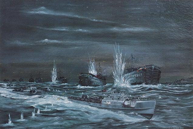 WWII wrecks
