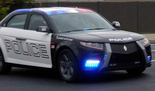 Carbon Motors Releases Actual Photos Of Their E7 Police Car