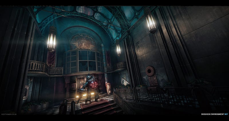 What BioShock Would Look Like Running on Crysis' Engine