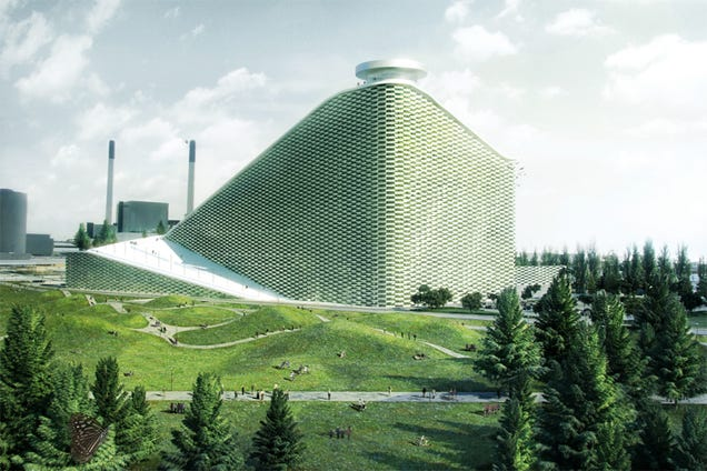 This Crazy Geodesic Dome Is Actually a Power Plant
