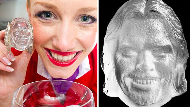 Use Richard Branson's Severed Head to Cool Your Drink