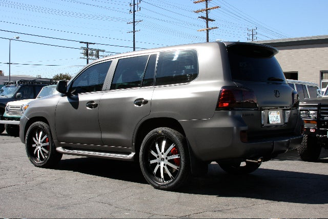 TLC ICON Lexus LX570 Shows Off Tubby Truck Tweaks For SEMA