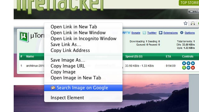 Search By Image Extension for Chrome Lets You Image Search Google from Any Page