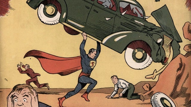 Theft of Nic Cage's Action Comics No. 1 to become a movie, but not starring Nic Cage