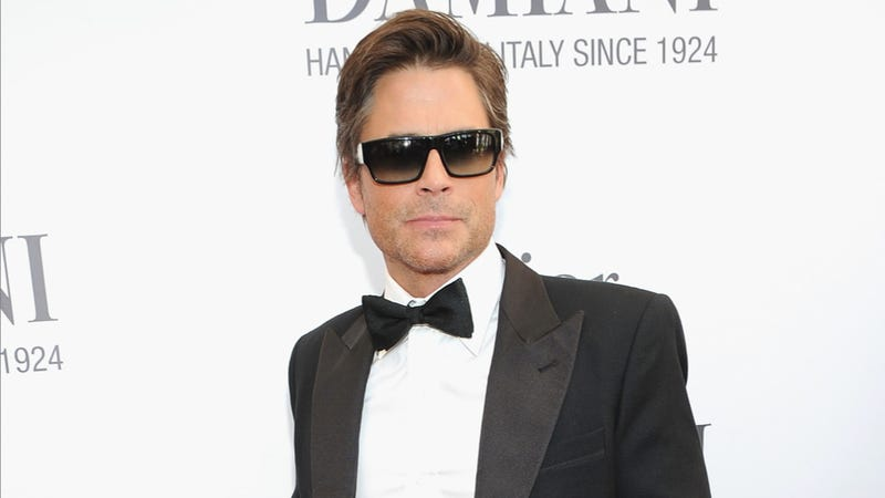 Rob Lowe Refuses To Confirm Or Deny Rob Lowe's Report That Peyton Manning Is Retiring