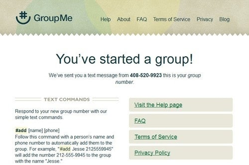 GroupMe Creates Easy to Manage Group Text Messaging