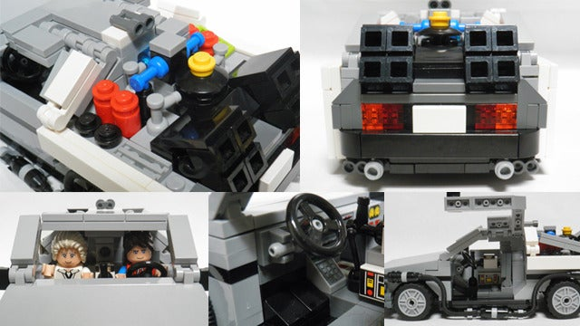 Where we're going, we don't need roads, but we do need this official Back to the Future Lego set