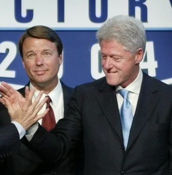How Bill Clinton Got His Sweet, Sweet Revenge on John Edwards