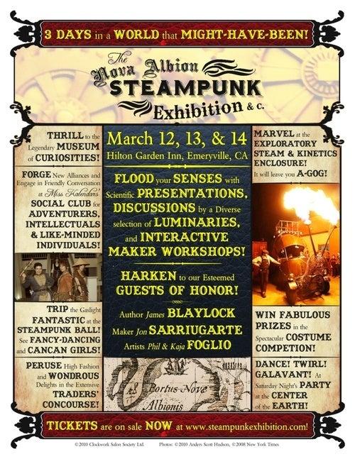 Nova Albion Steampunk Exhibition Showcases Fashion, Film, Madness