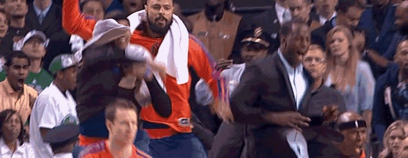Security Guard Celebration Is An Homage To Rasheed Wallace