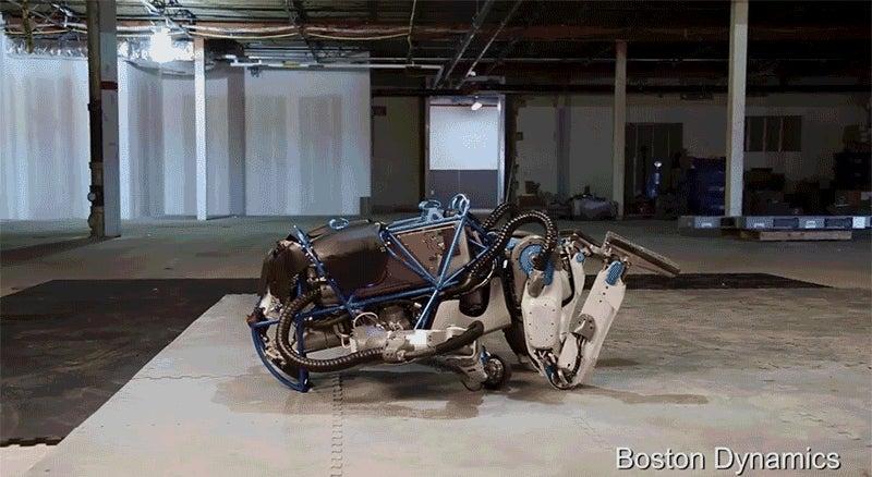Watch Google Robot Bounce Back After Fall