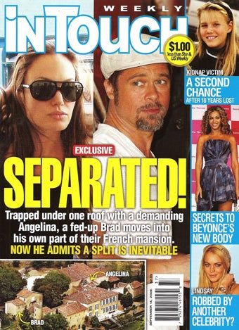"This Week In Tabloids: Lindsay May Have Robbed Herself; Demi's ""Never"" Had Plastic Surgery"