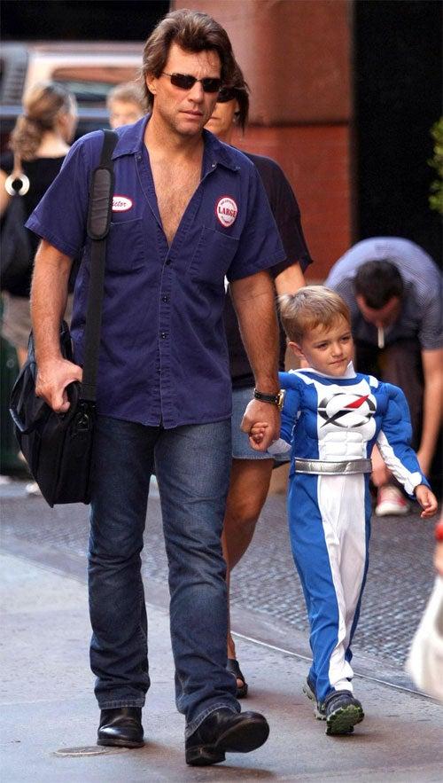Jon Bon Jovi, Boy Do Halloween 8 Weeks Too Early