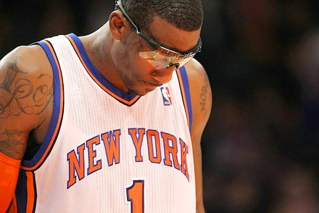 Eighth-Youngest Player On Knicks Out For Six Weeks