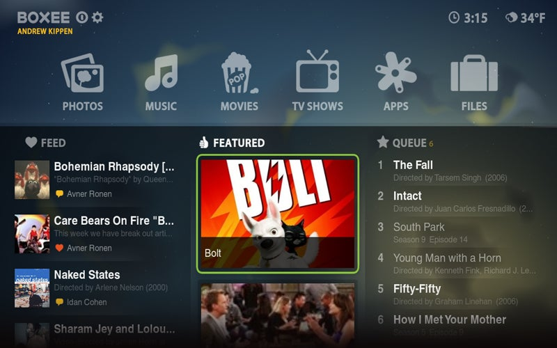 Boxee Beta Gets an Entirely New Look and Feel