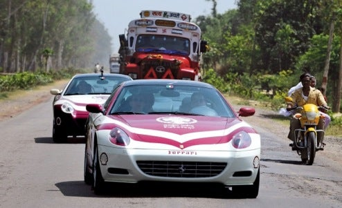 524 Magical Miles Across India...In A Ferrari