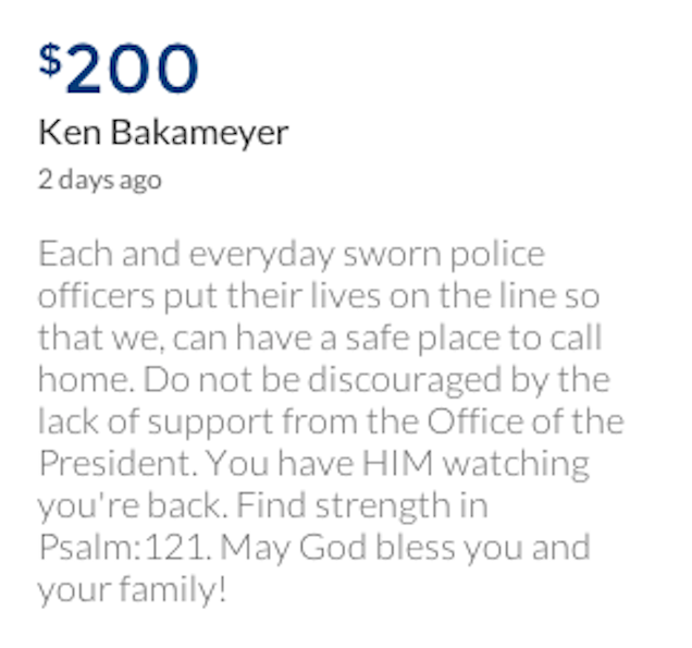 These Are the People Donating Money to Mike Brown's Killer