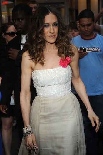 Sarah Jessica Parker Keeps Fans at Bay