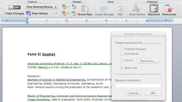 Mac resume settings