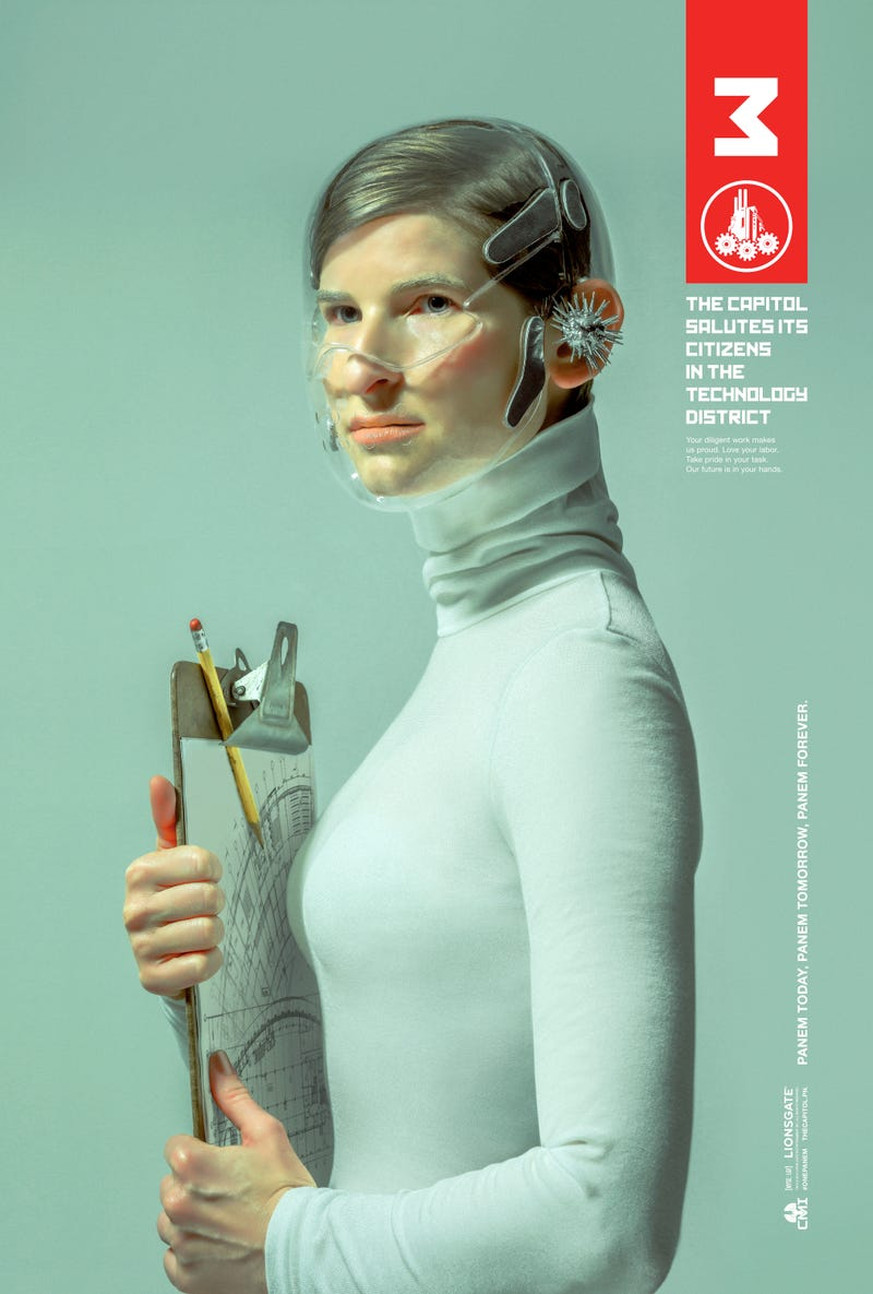 A Gorgeous Look at the Rest of Panem in the Latest The Hunger Games Art