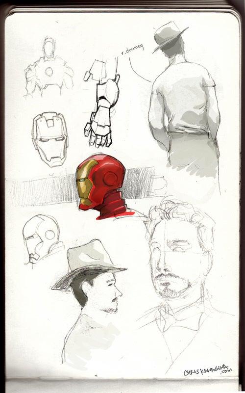 Iron Man Concept Art