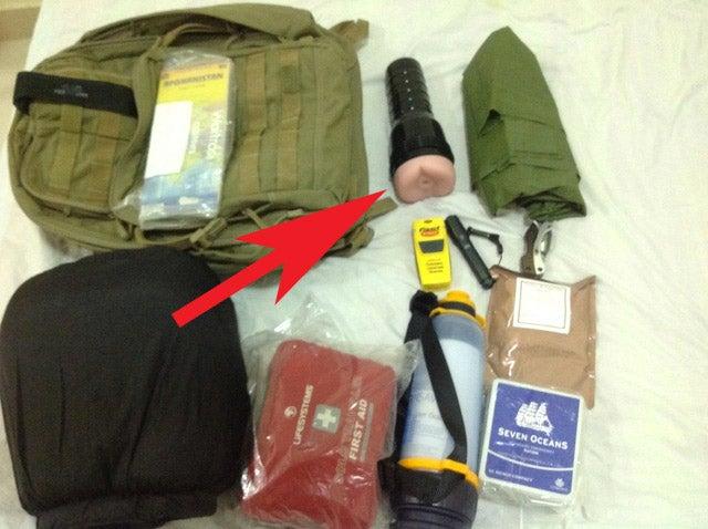 Newspaper Tweets Picture of Afghan Aid Worker's Fleshlight