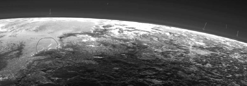 There Might Be Clouds on Pluto