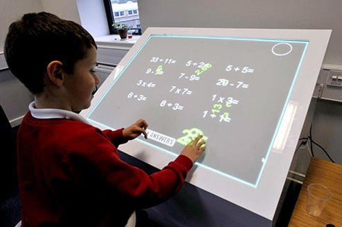 Education's Many Problems Solved With Multitouch Desks