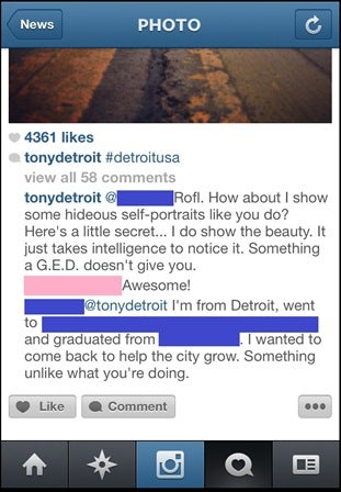 'Beautiful Architecture' Instgrammers Call Detroiters 'Ghetto, Hideous'