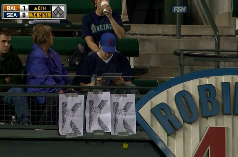 It's White Supremacy Night At Safeco Field