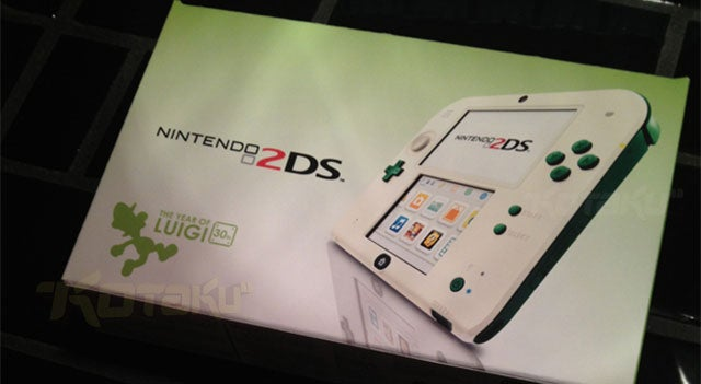 Turns Out This Impressive Luigi 2DS was Fan-Made