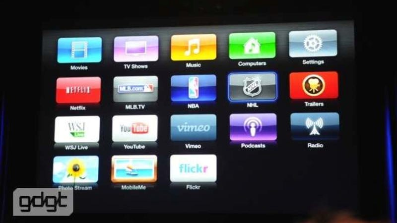 The Next Apple TV: Finally Big Beautiful HD