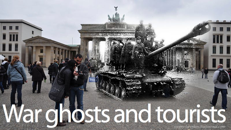Photoshop Time Traveling Into World War II Ghost Dimension (Part Two)
