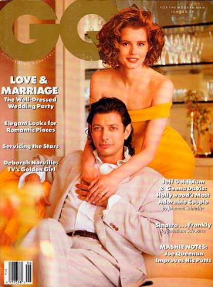 Remember When Geena Davis and Jeff Goldblum Were Married?