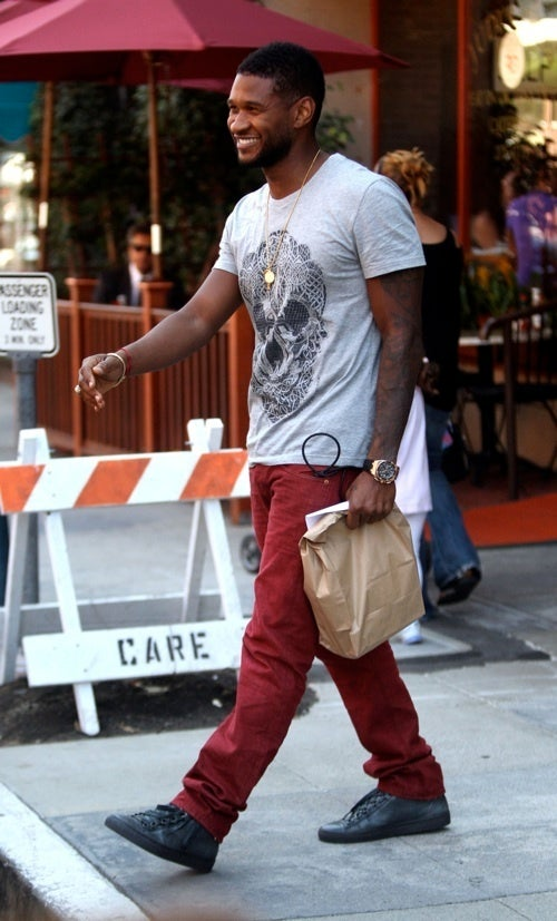 Usher Has ____ In The Bag