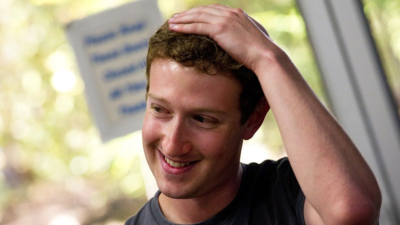 Let Mark Zuckerberg Take You On a Romantic Woodland Stroll