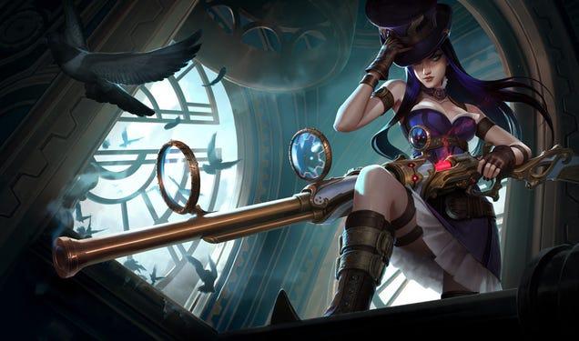 League Of Legends Character Design Contest : League of legends character art is awesome