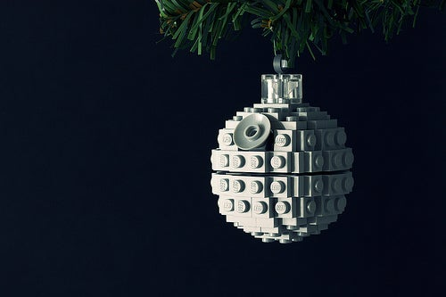 Build a Lego Death Star Ornament With Powerpig