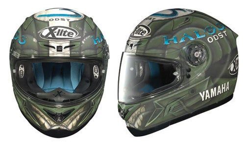 Halo 3 ODST Motorcyle Helmet Perfect For Headshot Protection