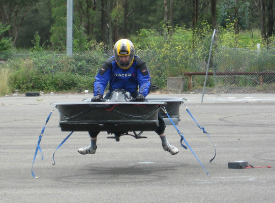 Custom-built Hoverbike prototypes are now available for purchase