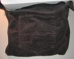 Make A Shoulder Bag From Jeans 18