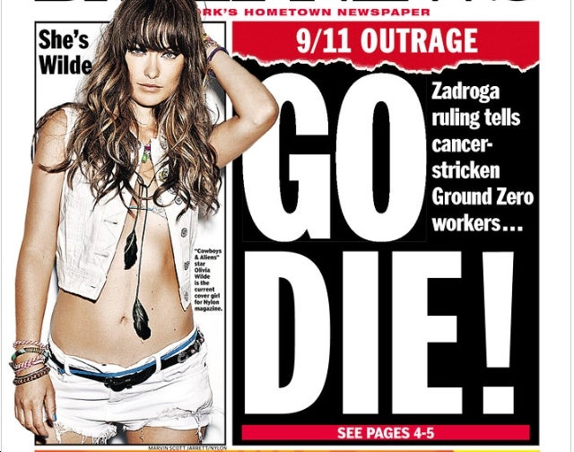 New York Daily News Defines 'Cognitive Dissonance'