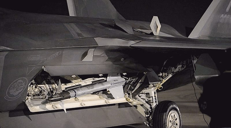 Listen And Watch The Mechanical Symphony That Is An F-22 Raptor Coming To Life