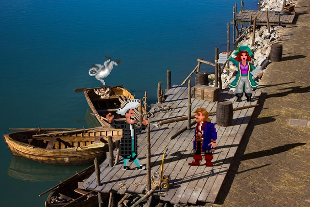 16-Bit Characters Fit Perfectly In Real-Life Environments