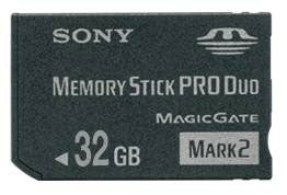 Sony Increases Memory Stick Pro Duo Capacity To 32GB