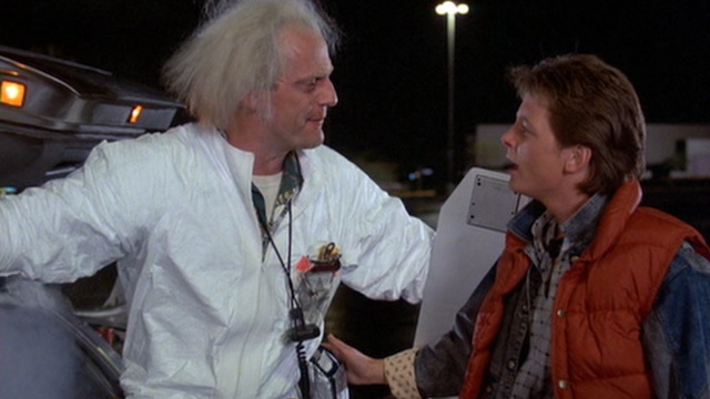 "Brilliant Wackos Are Acting Out ""Back To The Future"" On Twitter"