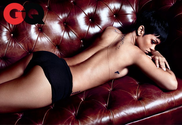 Of Course Rihanna Is Naked on GQ's 'Men of the Year' Issue